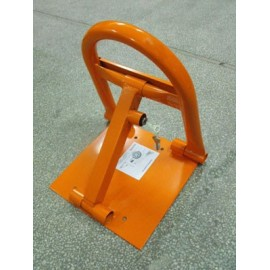 Anti-parking devise with lock Abloy