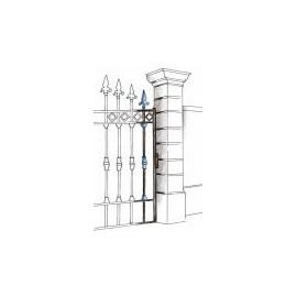 Декоративен орнамент за ограда  801