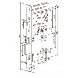 Електромеханична брава Abloy EL 560