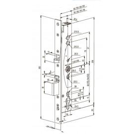 Електромеханична брава Abloy EL 460