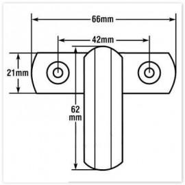 Райбер за алуминиева и PVC дограма