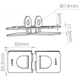 Mul- t- lock Glass door