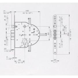 Брава MUL-T-LOCK 602