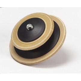 LA-120 Profiled leather honing wheel