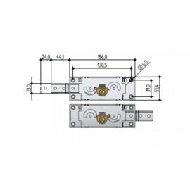 Чифт брави за ролетки A711