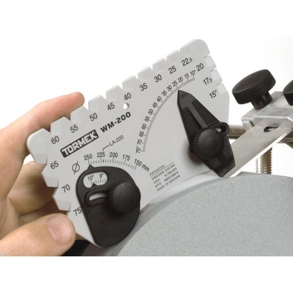 Tormek WM-200 Ъгломер за определяне и настройка на ъгъла на заточване