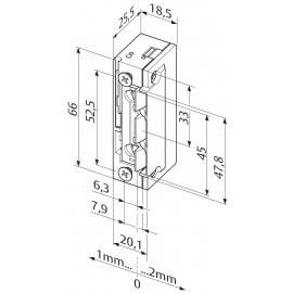 Eff Eff 138.13-E91 с челна планка PROFIX 2