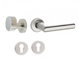 Handle 102+ knob 327GK with rose for cylinder