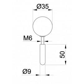 Стопер гумен 266