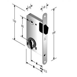 Магнитна брава B-TWO 949