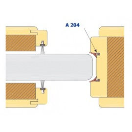 Special weatherstrips A204/15