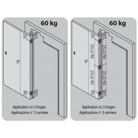 Скрита панта Atomika Slim K8060