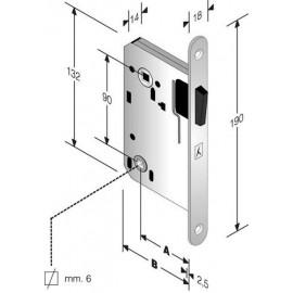 Магнитна брава B-TWO 941